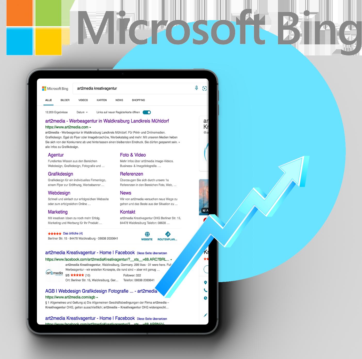 Bing Ads mit art2media