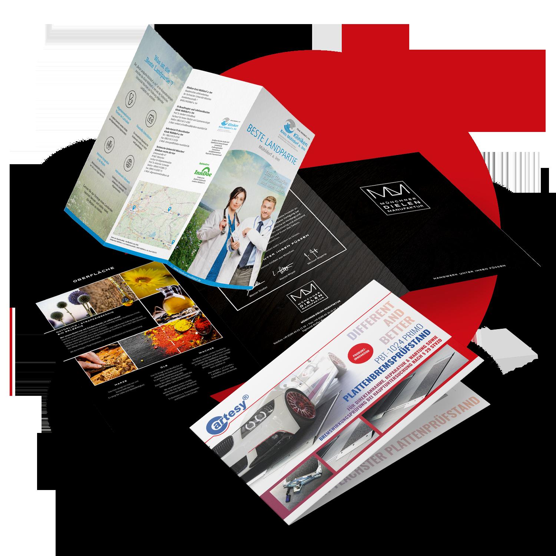 Flyer - zielgruppengenau, effizient und kostengünstig mit art2media