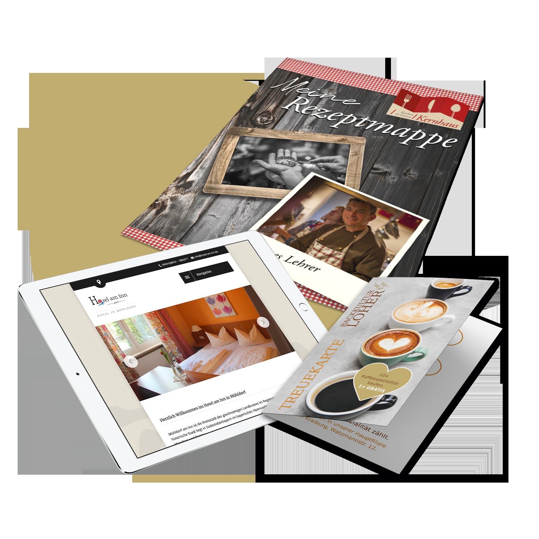 Werbung in der Gastronomie