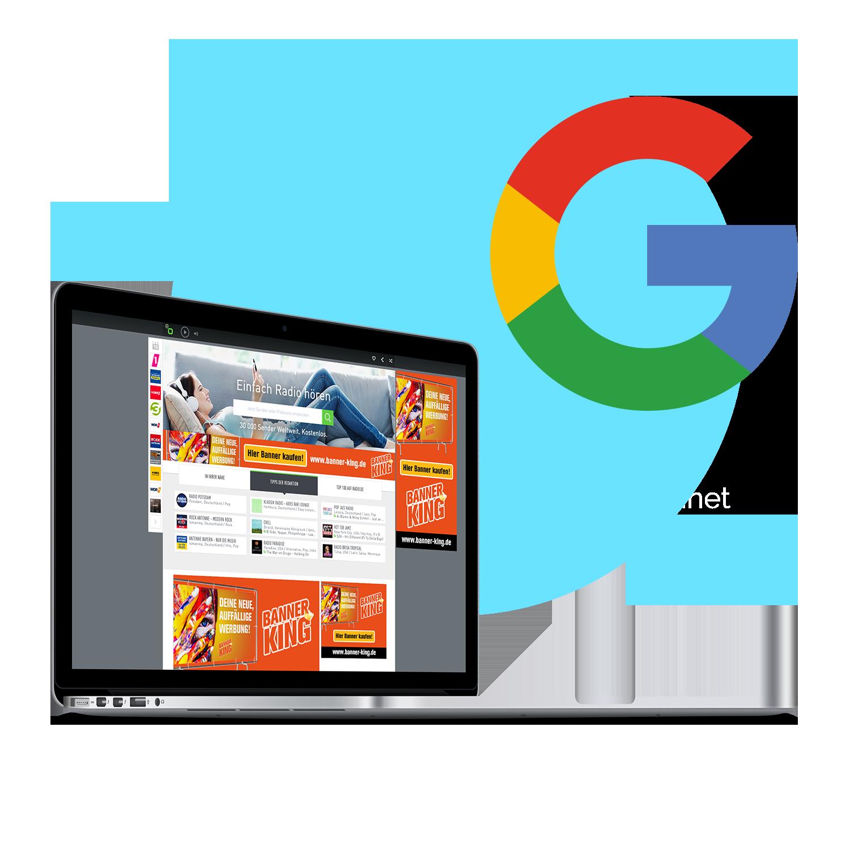 Google Displaynetzwerk - Werbung mit art2media