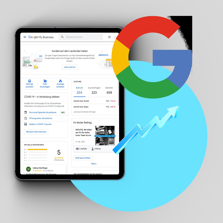 Google my Business - merh Reichweite erzielen mit art2media