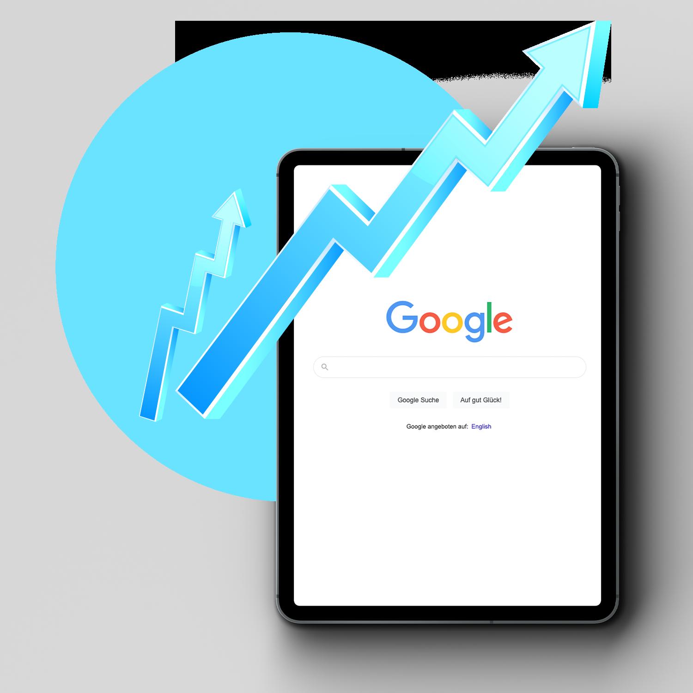 Google - organisch (SEO): mehr Erfolg mit art2media