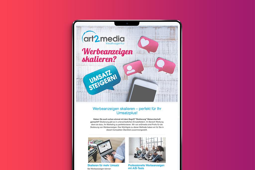 Der Newsletter als wichtiges Werbemedium