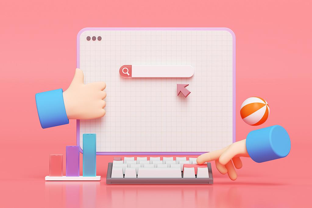Suchmaschinenmarkt Symbolbild