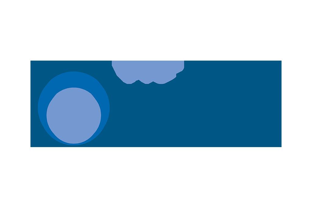 PVC Streifen Vorhang Logo