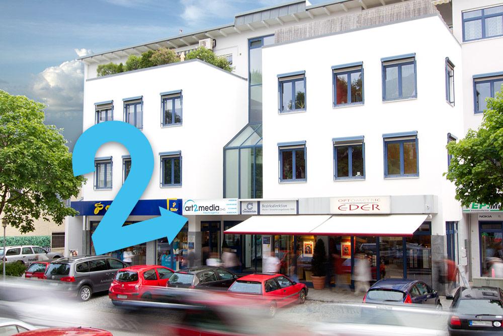 art2media Bürogebäude