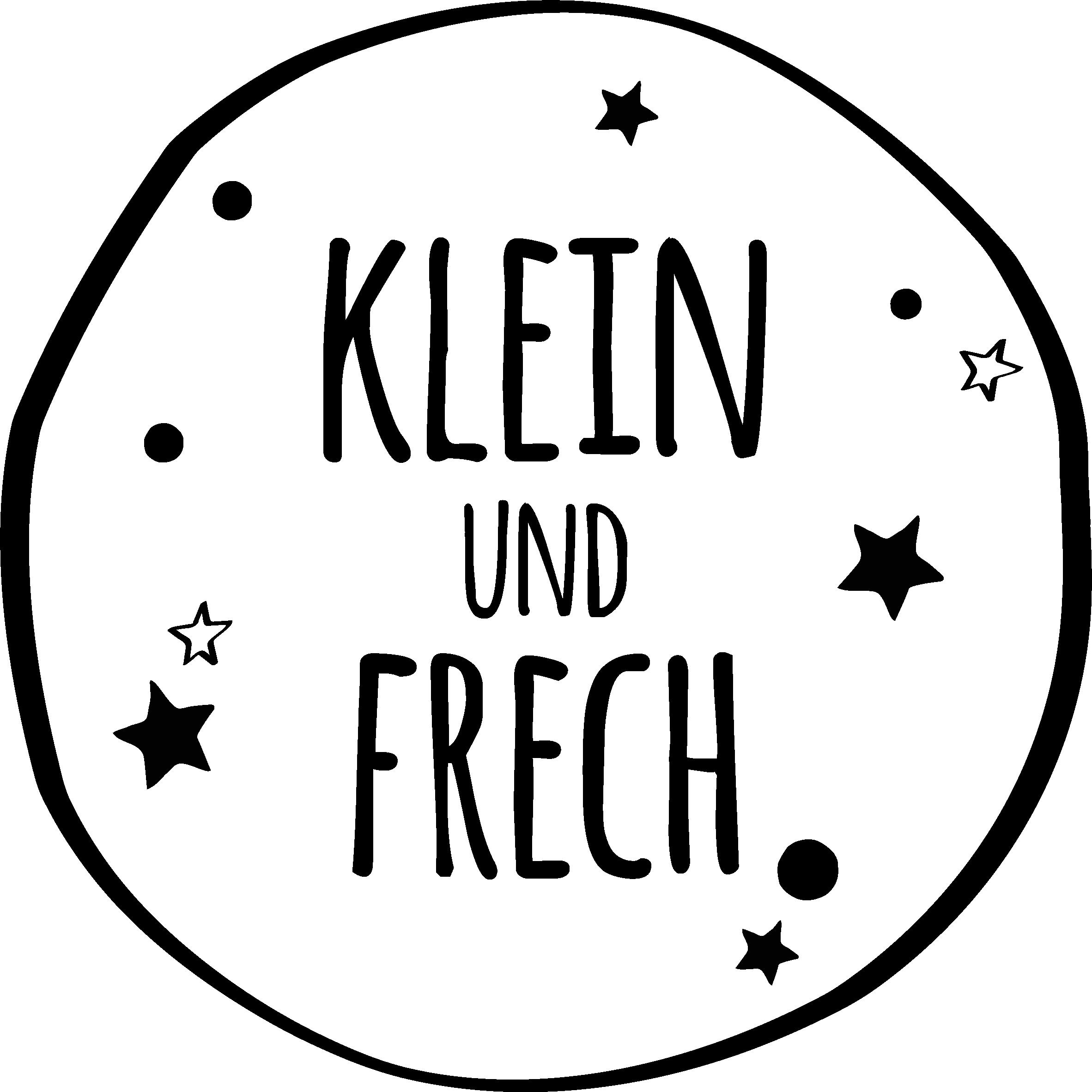 Klein und frech Logo